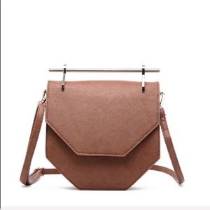 NWT The 'Hester' Gold Hardware Crossbody in cognac